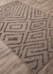 Jaipur Luxor LNK03 Charon Limestone & Indian Teal Closeout Area Rug