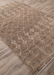 Jaipur Luxor LNK04 Lapins Silver Mink & Lily White Area Rug
