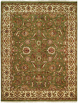 Kalaty Lateef LT-807 Medium Green/Ivory Closeout Area Rug