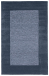Trans-Ocean Liora Mann Madrid 1300/03 Border Blue Area Rug