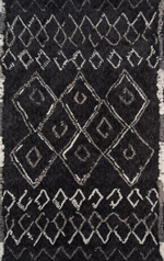 Momeni Margaux MGX-03 Black Area Rug