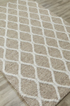 Jaipur Maverick MAV02 Zarah Oxford Tan & Silver Birch Area Rug