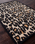 Jaipur Midtown Artemiss MD20 Wild Thing Soft Gold/Ebony Closeout Area Rug