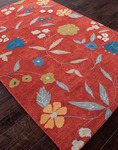 Jaipur Midtown Artemiss MD23 Ditsy Flowers Soft Coral/Soft Coral Closeout Area Rug