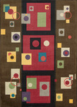 Nourison Modern Arts MDR05 CHSNT Chesnut Closeout Area Rug