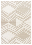 Jaipur Traditions Made Modern Tufted MMT20 Graphix Pelican & Turtledove Area Rug