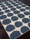 Jaipur Maroc MR08 Ghita Real Teal & Turtledove Closeout Area Rug