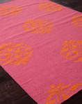 Jaipur Maroc MR15 Nada Pink Flambe & Persimmon Orange Area Rug