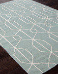 Jaipur Maroc MR16 Naima Harbor Gray & Bone White Closeout Area Rug