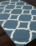 Jaipur Maroc MR19 Rafi Blue Ashes & Whitecap Gray Closeout Area Rug