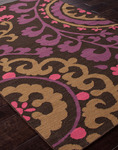 Jaipur Maroc MR21 Rania Deep Charcoal Closeout Area Rug - Fall 2013