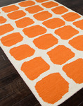 Jaipur Maroc MR24 Sabra White/Orange Closeout Area Rug - Spring 2014
