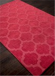 Jaipur Metro MT39 Tile Design Red Closeout Closeout Area Rug