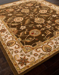 Jaipur Mythos MY01 Maia Cocoa Brown/Dark Ivory Area Rug