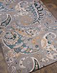 Jaipur Narratives NA02 Kipling Light Blue/Teal Blue Closeout Area Rug