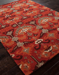 Jaipur Narratives NA12 Cooper Velvet Red/Velvet Red Closeout Area Rug - Spring 2014