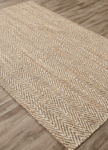 Jaipur Naturals Tobago NAT13 Hoopes Angora & Incense Area Rug