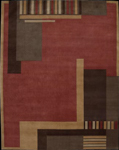 Nourison Dimensions ND13 RUS Rust Closeout Area Rug