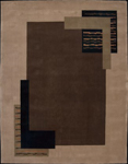 Nourison Dimensions ND14 LBR Light Brown Closeout Area Rug