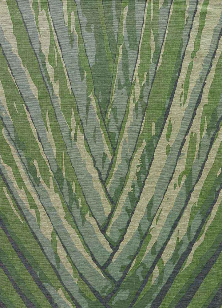 jaipur national geographic home indoor outdoor ngo02 palm leaf seagrass celadon tint area rug. Black Bedroom Furniture Sets. Home Design Ideas