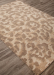 Jaipur National Geographic Home Tufted NGT04 Ocelot Oatmeal & Aluminum Closeout Area Rug
