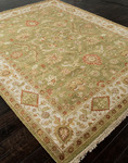 Jaipur Notting Hill NH06 Bexley Olive Branch/Dark Ivory Closeout Area Rug - Fall 2013