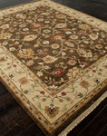 Jaipur Notting Hill NH07 Kensington Cocoa Brown/Sand Closeout Area Rug - Spring 2014