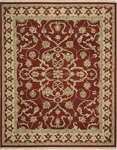 Nourison Nourmak Encore NOE08 RED Red Closeout Area Rug - Spring 2016