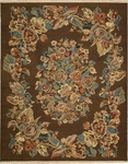 Nourison Nourmak Encore NOE11 CHO Chocolate Closeout Area Rug - Spring 2016