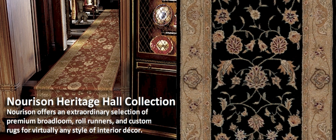 Nourison Heritage Hall Collection - Broadloom Carpet
