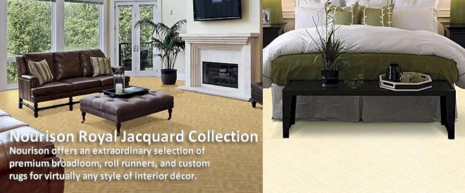Royal Jacquard Collection - Broadloom