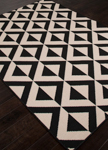 Jaipur Patio PAO03 Marquise Jet Black & Birch Area Rug