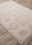 Jaipur Playful PBP04 Elephant Love Atmosphere & Silver Gray Area Rug