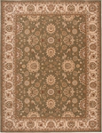 Nourison Persian Crown PC002 GREEN Green Area Rug