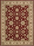 Nourison Persian Crown PC002 RED Red Area Rug