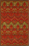 Trans-Ocean Liora Manne Petra 9072/24 Ikat Red Closeout Area Rug