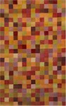 Trans-Ocean Liora Manne Petra 9049/18 Squares Sunset Closeout Area Rug