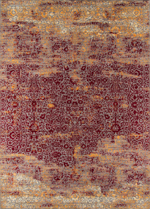 Momeni Petra PE-01 Red Area Rug