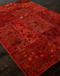 Jaipur Provenance - Wool & Silk PI03 Chili Closeout Area Rug - Spring 2014