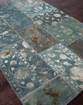 Jaipur Provenance - Wool & Silk PI04 Teal Blue Closeout Area Rug