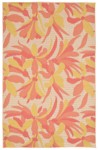 Trans-Ocean Playa 1350/74 Flower Warm Area Rug