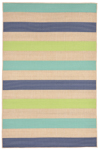 Trans-Ocean Playa 1352/33 Stripe Cool Closeout Area Rug