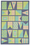 Trans-Ocean Playa 1355/33 Signal Flags Cool Area Rug