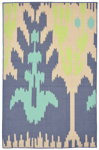 Trans-Ocean Playa 1359/33 Ikat Cool Area Rug