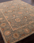 Jaipur Poeme PM05 Rennes Jadeite & Dark Earth Area Rug
