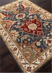 Jaipur Poeme PM107 Aamanda Egret & Twilight Blue Closeout Area Rug