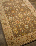 Jaipur Poeme PM16 Picardy Gray Brown/Sand Closeout Area Rug