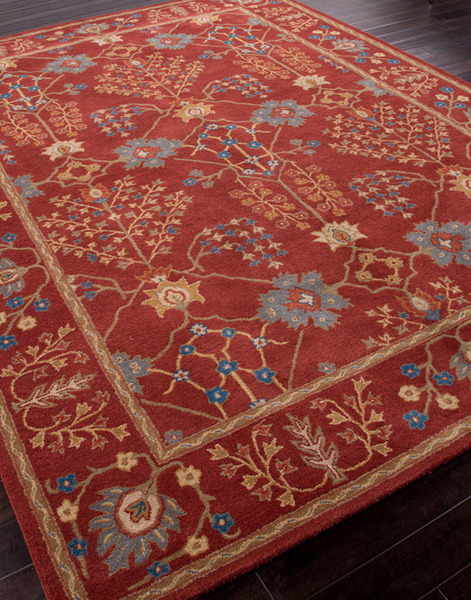 Jaipur Poeme Pm80 Chambery Soft Coral Soft Coral Area Rug