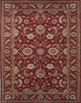 Jaipur Mythos MY07 Galatea Soft Coral/Soft Coral Closeout Area Rug - Fall 2013