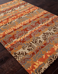 Jaipur Poeme PM94 Bourges Tobacco/Sea Green Closeout Area Rug - Fall 2013